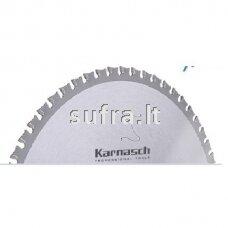Diskinė pjovimo freza su kietmetalio plokštelėmis, skirta plonasienių metalinių profilių pjovimui. Teigiamas danties kampas