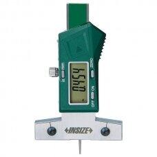 Gilmatis elektroninis, skirtas matuoti padangos protektorių, padalos vertė 0,01