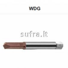 Grąžtas skirtas užlūžusiems sriegikliams iš VHM plieno, WDG