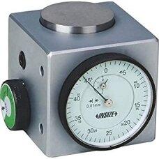 Indikatorinis  centro ieškiklis su magnetine baze