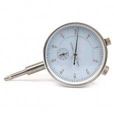 Laikrodinis indikatorius, padalos vertė 0,01 mm