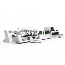 Lazerinės (fiber) vamzdžių pjovimo staklės. Modelis- T230A,darbinis ilgis - 6500mm