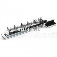 Lazerinės (fiber) vamzdžių pjovimo staklės. Modelis- T230E, darbinis ilgis - 6500mm