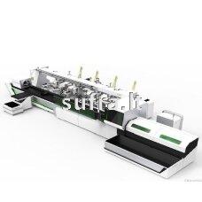 Lazerinės (fiber) vamzdžių pjovimo staklės. Modelis- X160A, darbinis ilgis - 6500mm