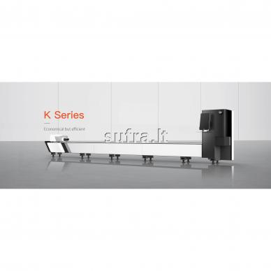 Lazerinės (fiber) vamzdžių pjovimo staklės. Modelis- K3, darbinis ilgis - 6,3m 2
