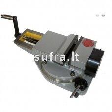 Spaustuvai mašininiai pneumo-hidrauliniai, pasukami, DIN 6370