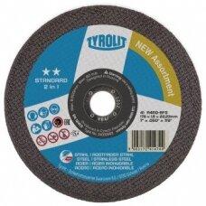 Pjovimo diskas plienui Tyrolit Standard** 2in1