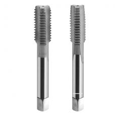 Rankinių sriegiklių komplektai iš HSS plieno, M sistema, DIN-352/2