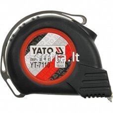 Ruletė su magnetu YATO