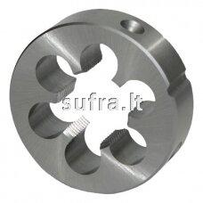 Sriegpjovė iš HSS plieno, kairinė (LH), MF(smulkus sriegis) sistema, DIN-EN 22 568, 800