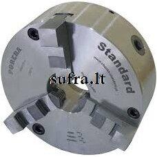 Tekinimo griebtuvas, plieninis, 3-jų kumštelių, tvirtininamas ant cilindro (DIN 6350) POREBA
