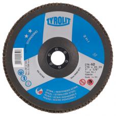 Žiedlapinis šlifavimo diskas Tyrolit Standard** 2in1